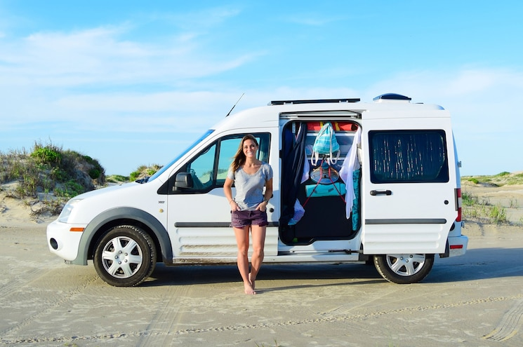 Van Life: Ford Highlights Three Women Who Live in Transit RVs