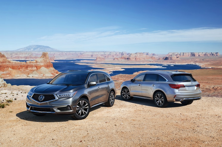 2019 Acura Mdx Advance Front And Rear