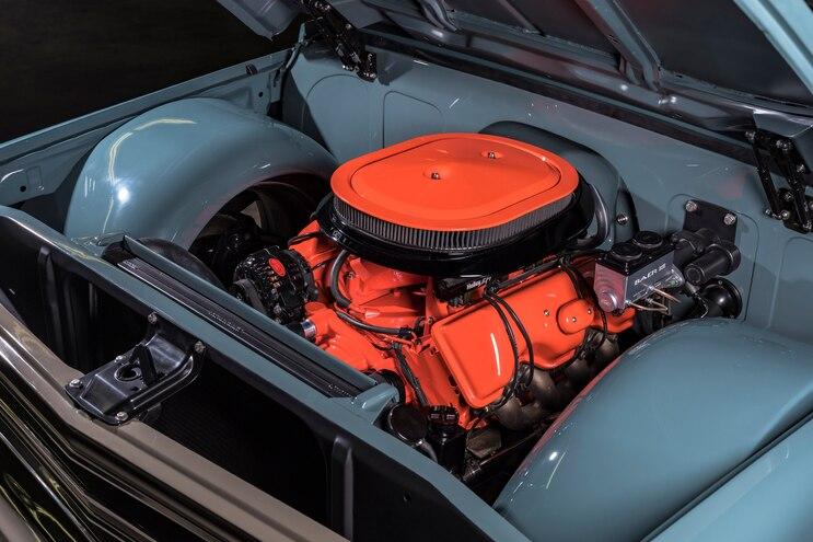 1972 Franklin Camper Chevrolet C30 Engine