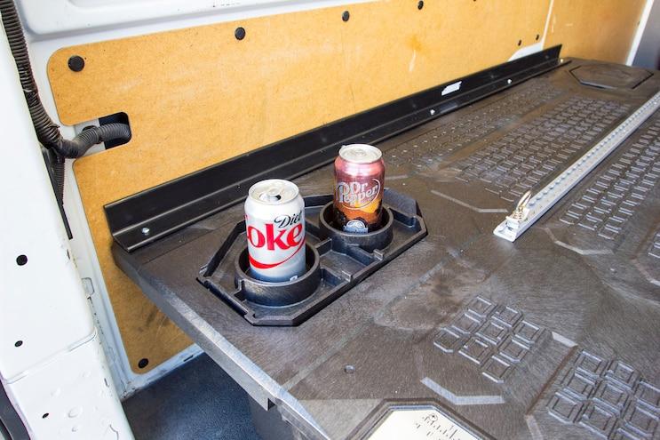 Install Decked Pickup Van Drawer System 019
