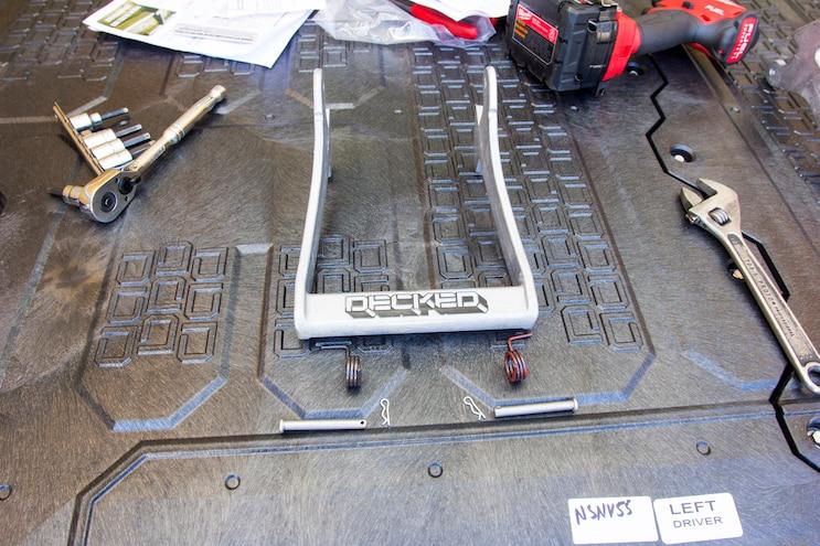 Install Decked Pickup Van Drawer System 015