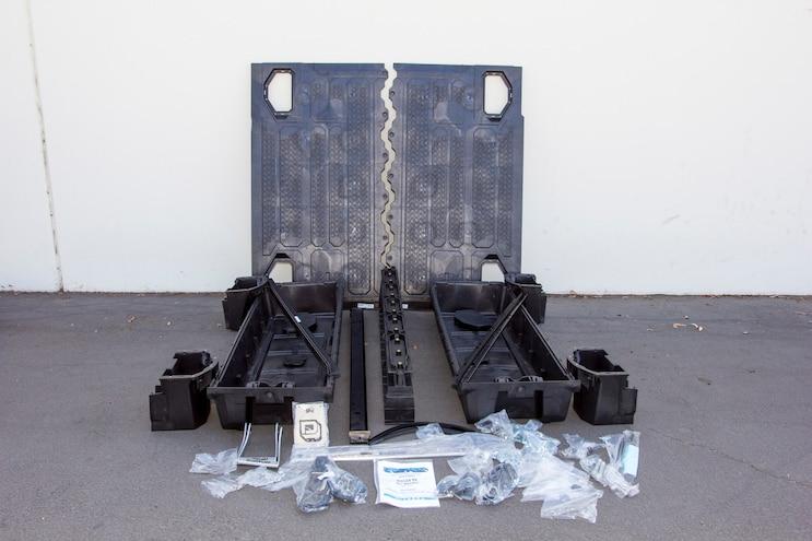 Install Decked Pickup Van Drawer System 003