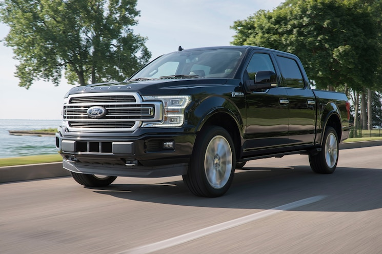 2019 Ford F 150 Limited Exterior Front Quarter 02
