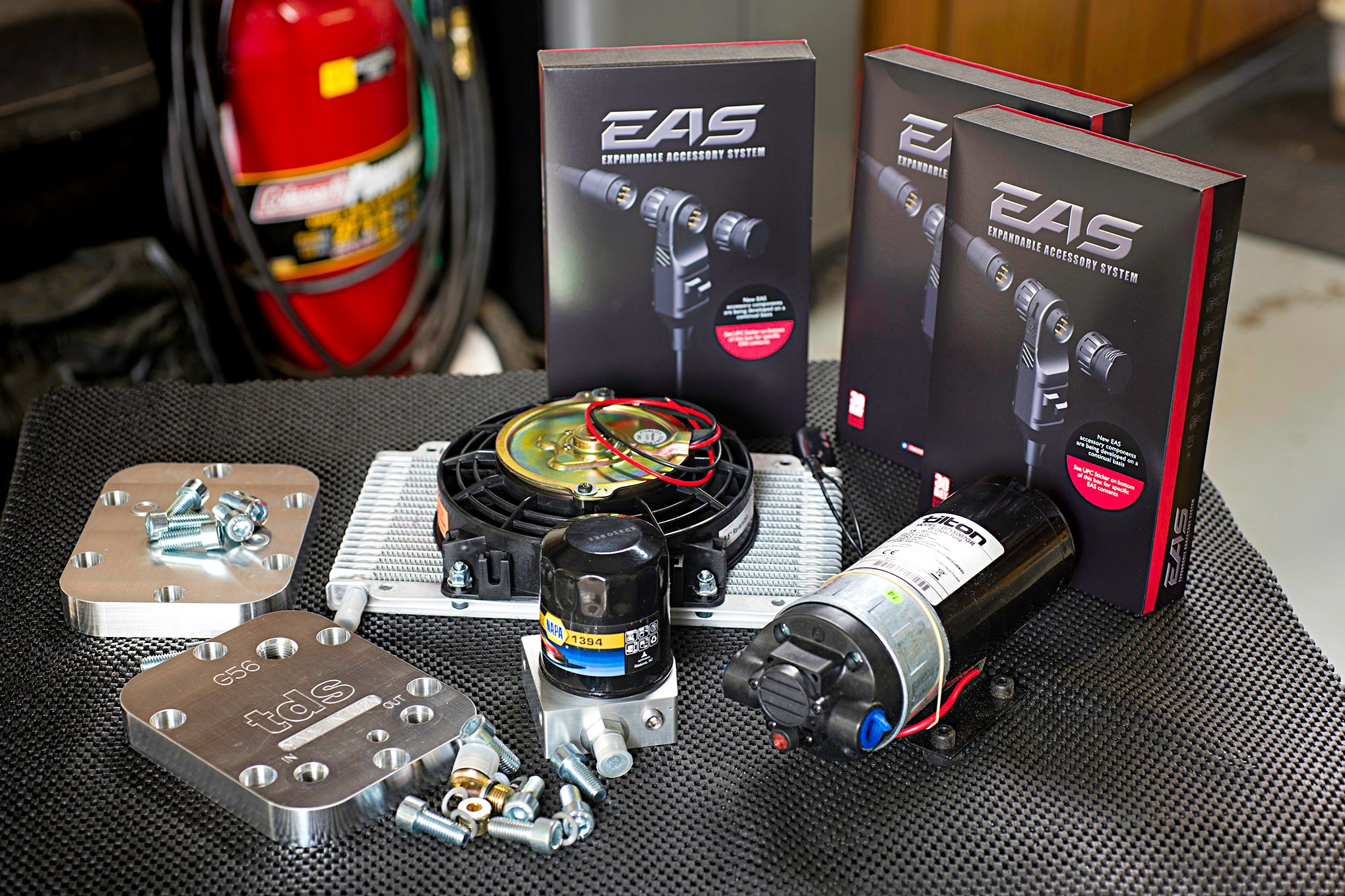 Manual Transmission Cooler for pickups by Fast Coolers 2 coolers ...