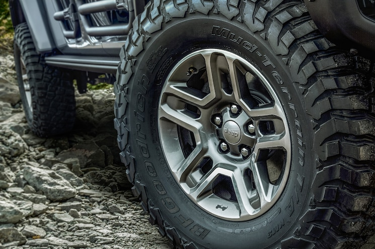 Jeep Performance Parts 2020 Gladiator Mopar Wheels