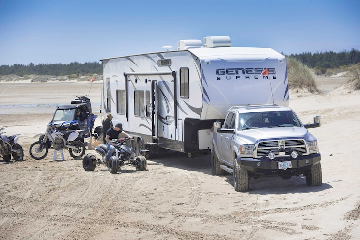 Top Tech Sand Driving