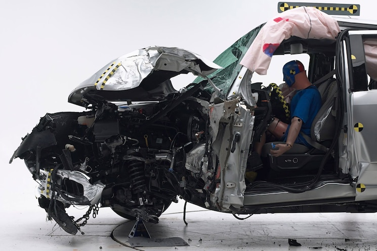 Shop Class Pickup Truck Crash Safety Devices Crash Test