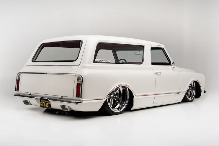 1968 Chevrolet Tahoe Concept One Off Ghoesst Rear
