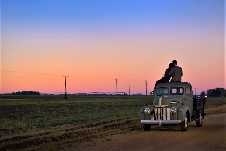 Mississippis Delta Blues Trail Sunset
