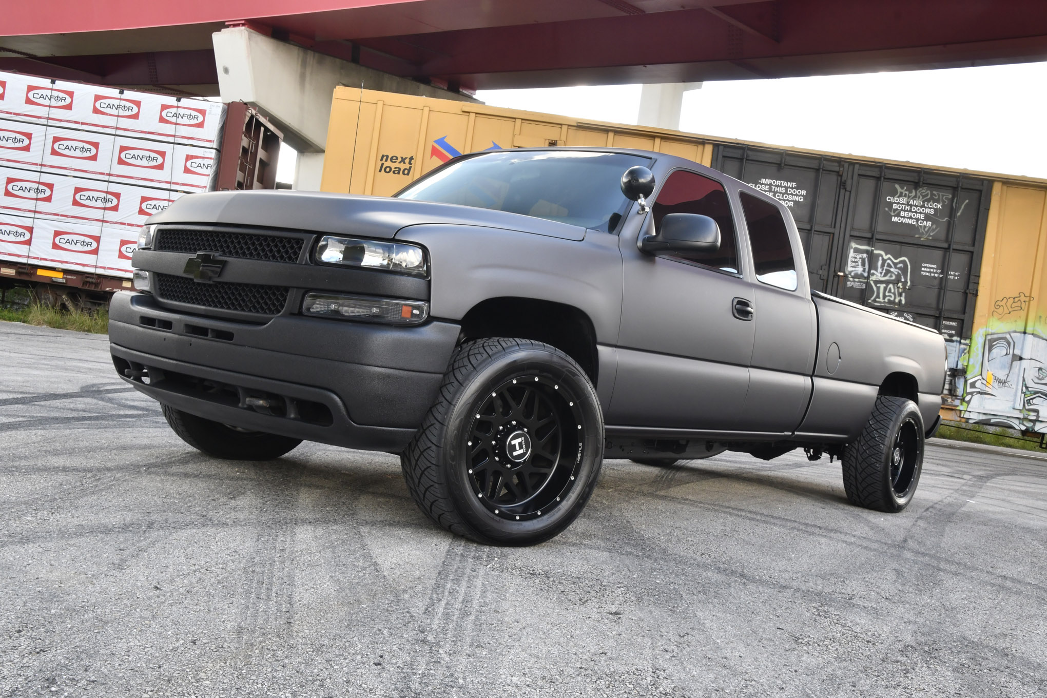 This 2002 Chevy Silverado Was Built For Speed On The Street And Track