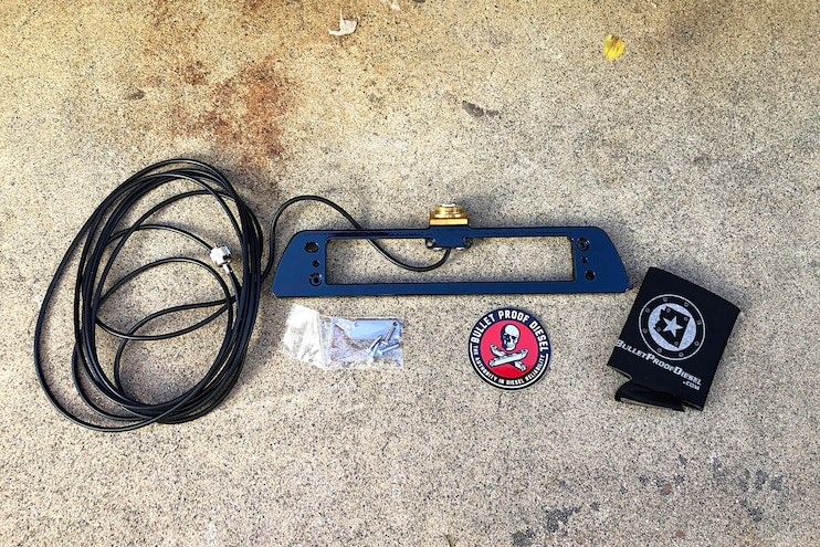 002 Bulletproof Diesel Ford Raptor Race Radio Antenna Mount Install