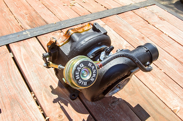 010 Lb7 Duramax Engine Banks Big Head Wastegate