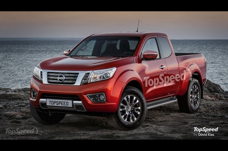 Next-Gen 2018 Nissan Frontier Rendered