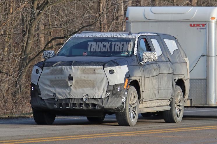 Spied 2020 Cadillac Escalade And Escalade Esv