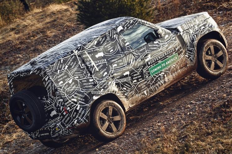 2020 Land Rover Defender Off Road Exterior Rear Quarter 01