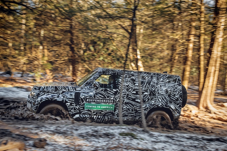 2020 Land Rover Defender Approved for U.S. Consumption
