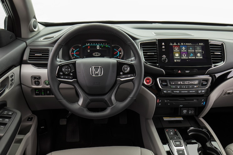 2019 Honda Pilot Elite Interior Cockpit