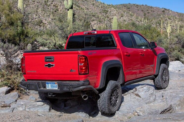 2019 Chevrolet Colorado Zr2 Bison Rear