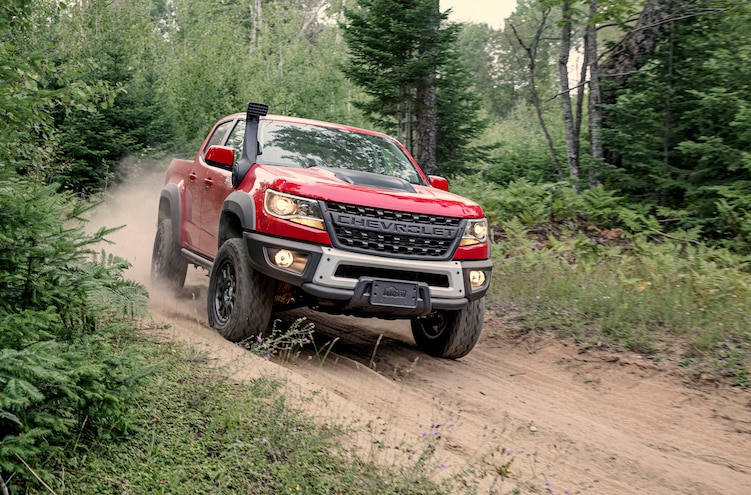 First Drive: 2019 Chevy Colorado ZR2 Bison