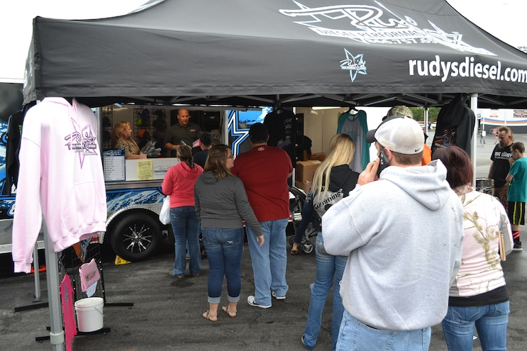013 Rudy Truck Jam Rudys Booth