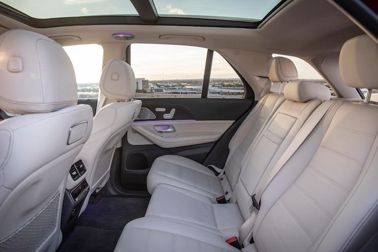 First Drive 2020 Mercedes Benz GLE Class Interior Back Seats