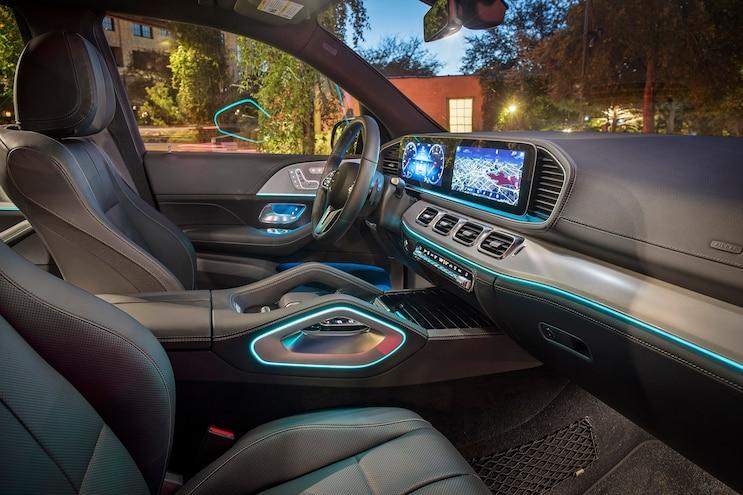 First Drive 2020 Mercedes Benz GLE Class Interior