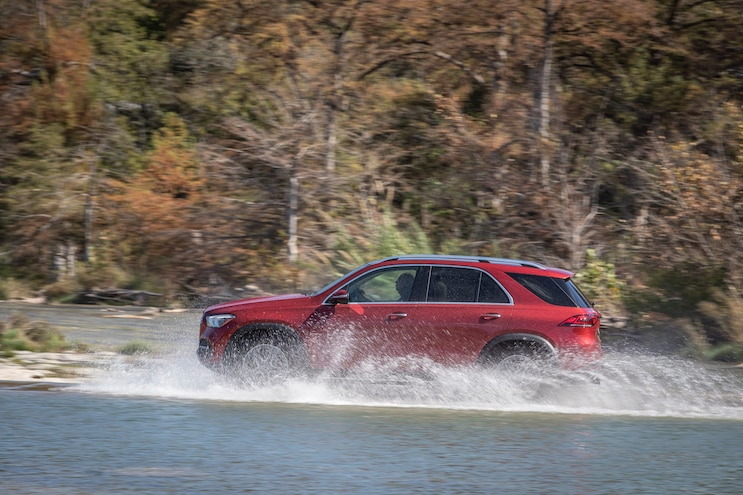 First Drive 2020 Mercedes Benz GLE Class In Water