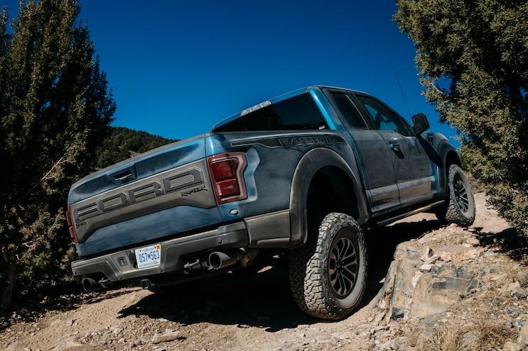 First Drive 2019 Ford F 150 Raptor Rear