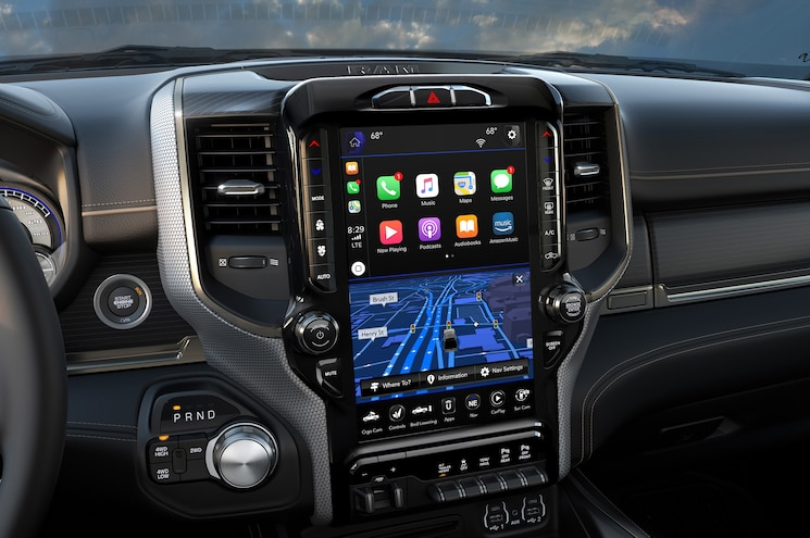 2019 Ram Heavy Duty Limited Interior Center Stack
