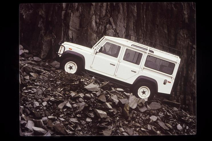 Truck Trend Legends Land Rover Defender Off Road