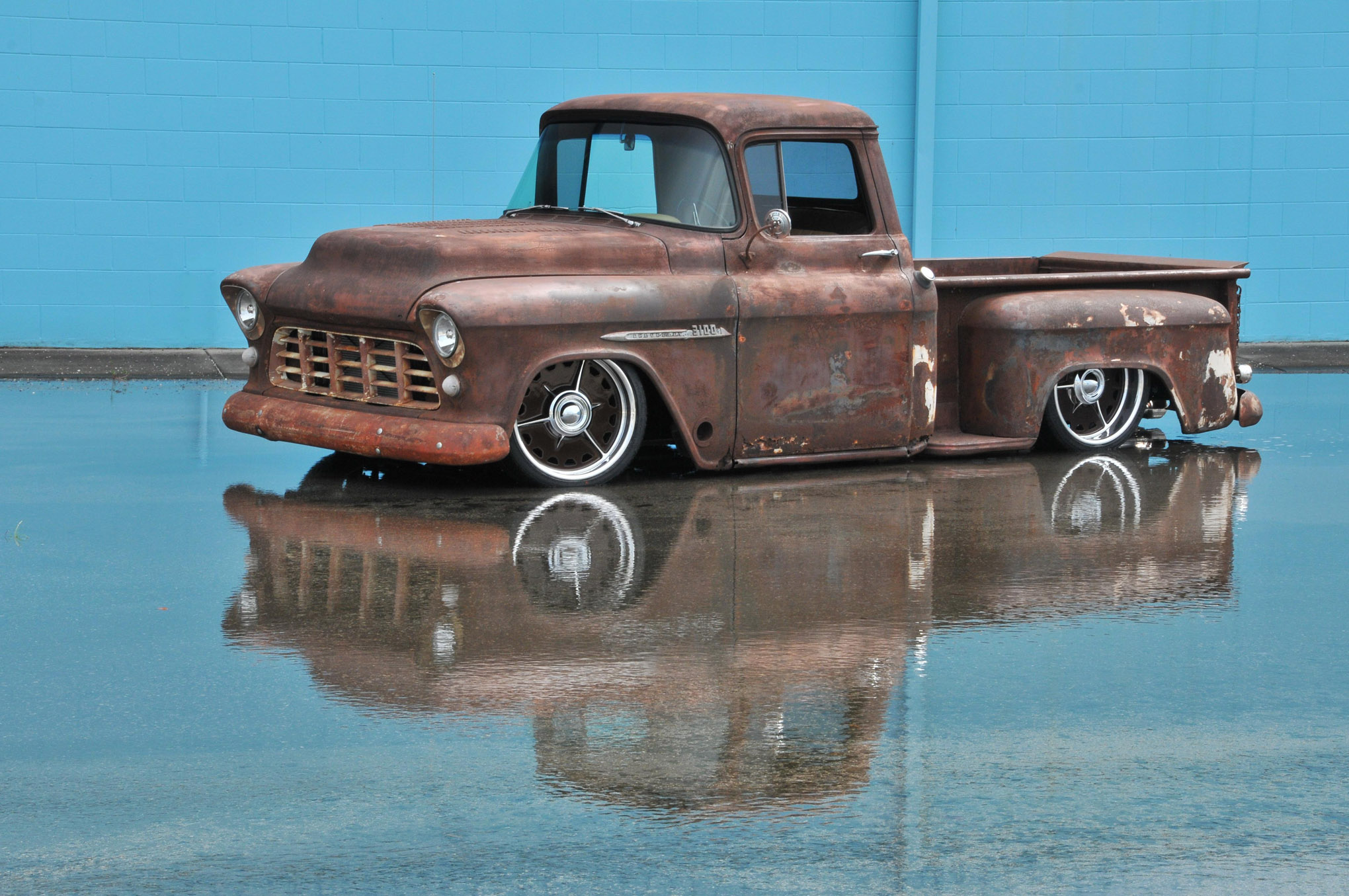 1955 Chevy Apache Rustina Revival Photo Image Gallery