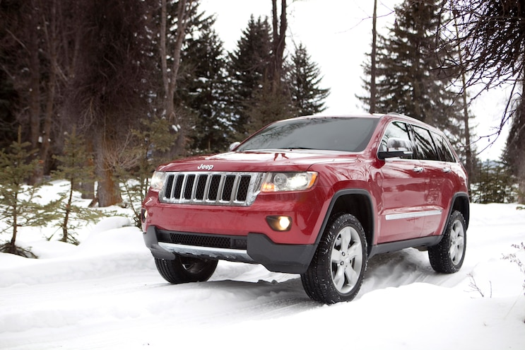 Jeep Grand Cherokee Snow