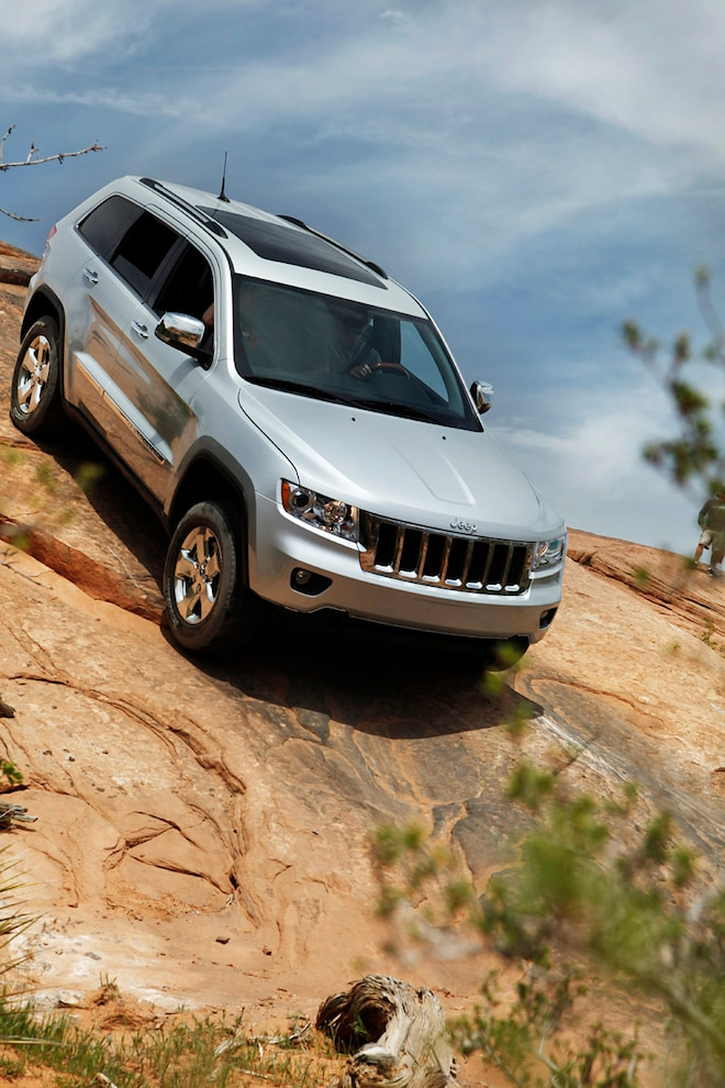Jeep Grand Cherokee Hill Descent
