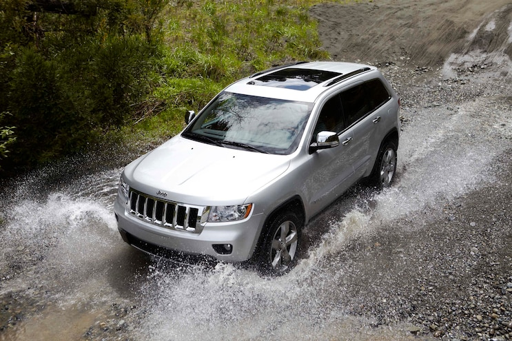 Jeep Grand Cherokee Fording