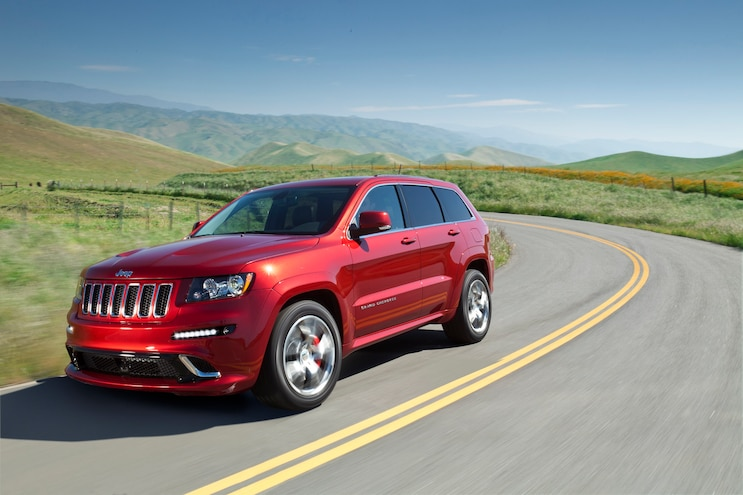 Jeep Grand Cherokee Action