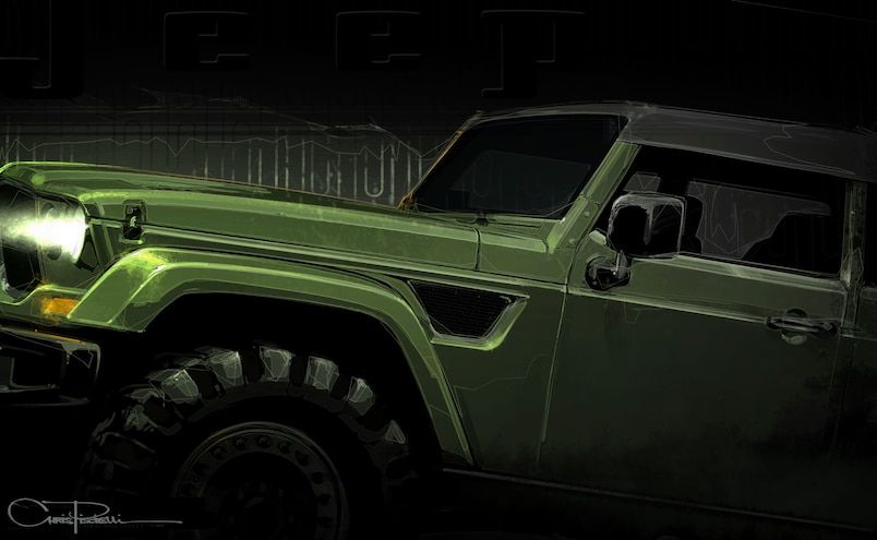 Jeep Teases Trailcat and Crew Chief Concepts Before Easter Jeep Safari