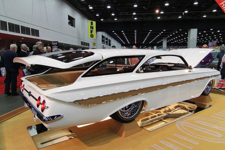 004 Detroit Autorama 1961 Chevy Impalal Wagon Joe Horisk