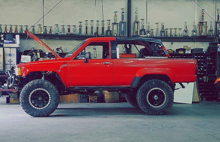 Sly Lumpkin's 1986 Toyota 4Runner: BFGoodrich's WHAT ARE YOU BUILDING FOR? Contest Winner for August