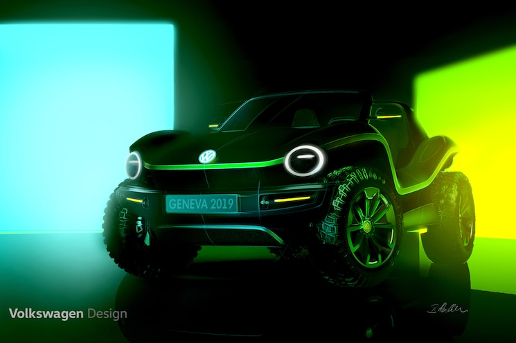 Volkswagen to Resurrect the Dune Buggy in All-Electric Concept Form