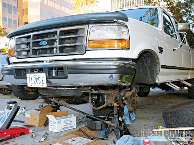 1997 Ford F350 Axle Repair - Dana 60 Front Axle - Diesel