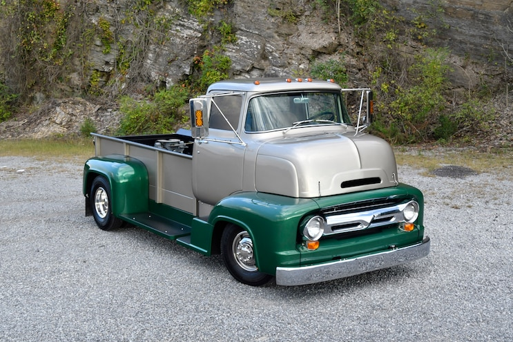 This Stylish 1956 Ford C-600 COE Does It All