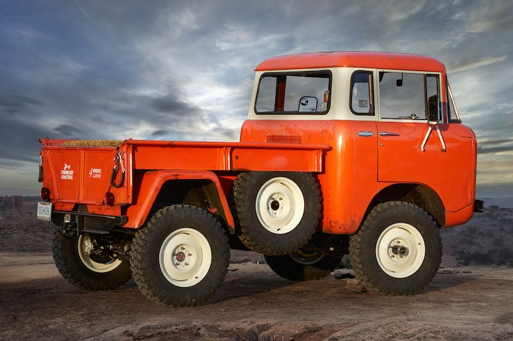 Jeep FC 150 Heritage Vehicle Rear View