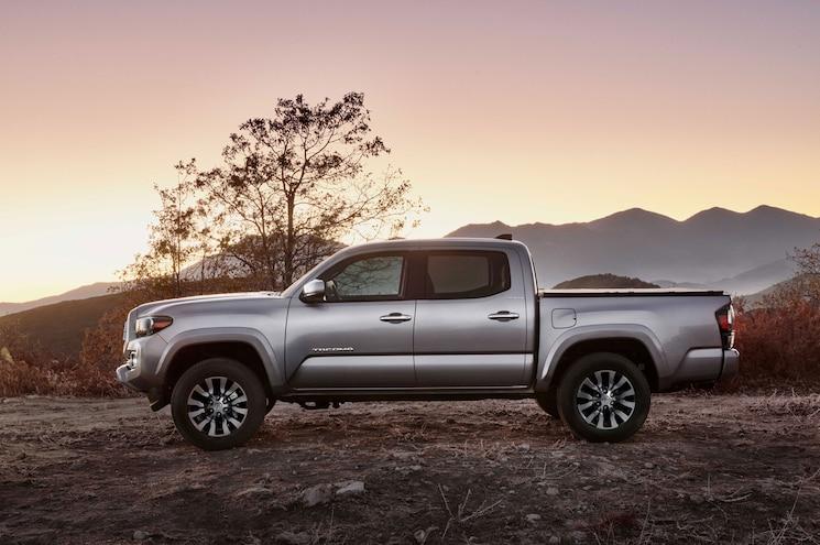 2020 Toyota Tacoma Limited Exterior Side Profile