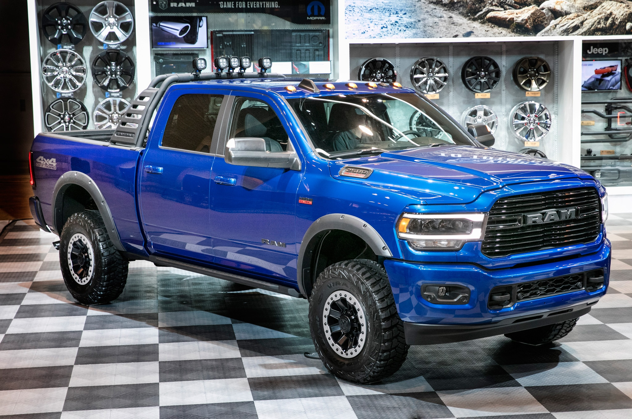2019 Chicago Auto Show Mopar Accessories For The Ram Heavy Duty