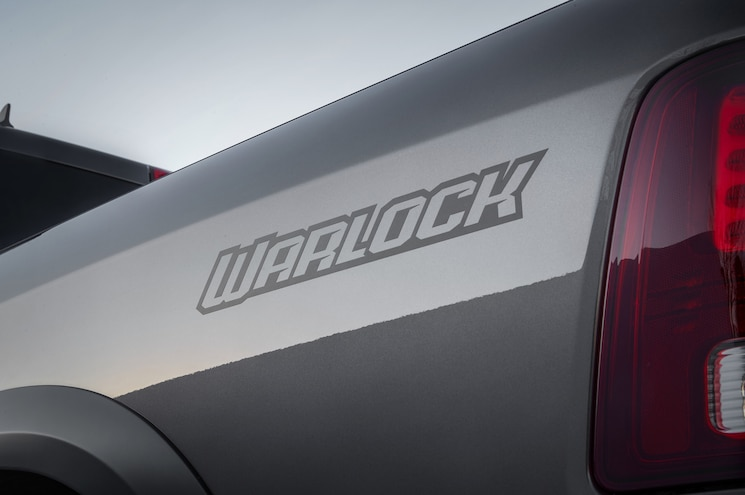 2019 Ram 1500 Classic Warlock Exterior Bed Graphics