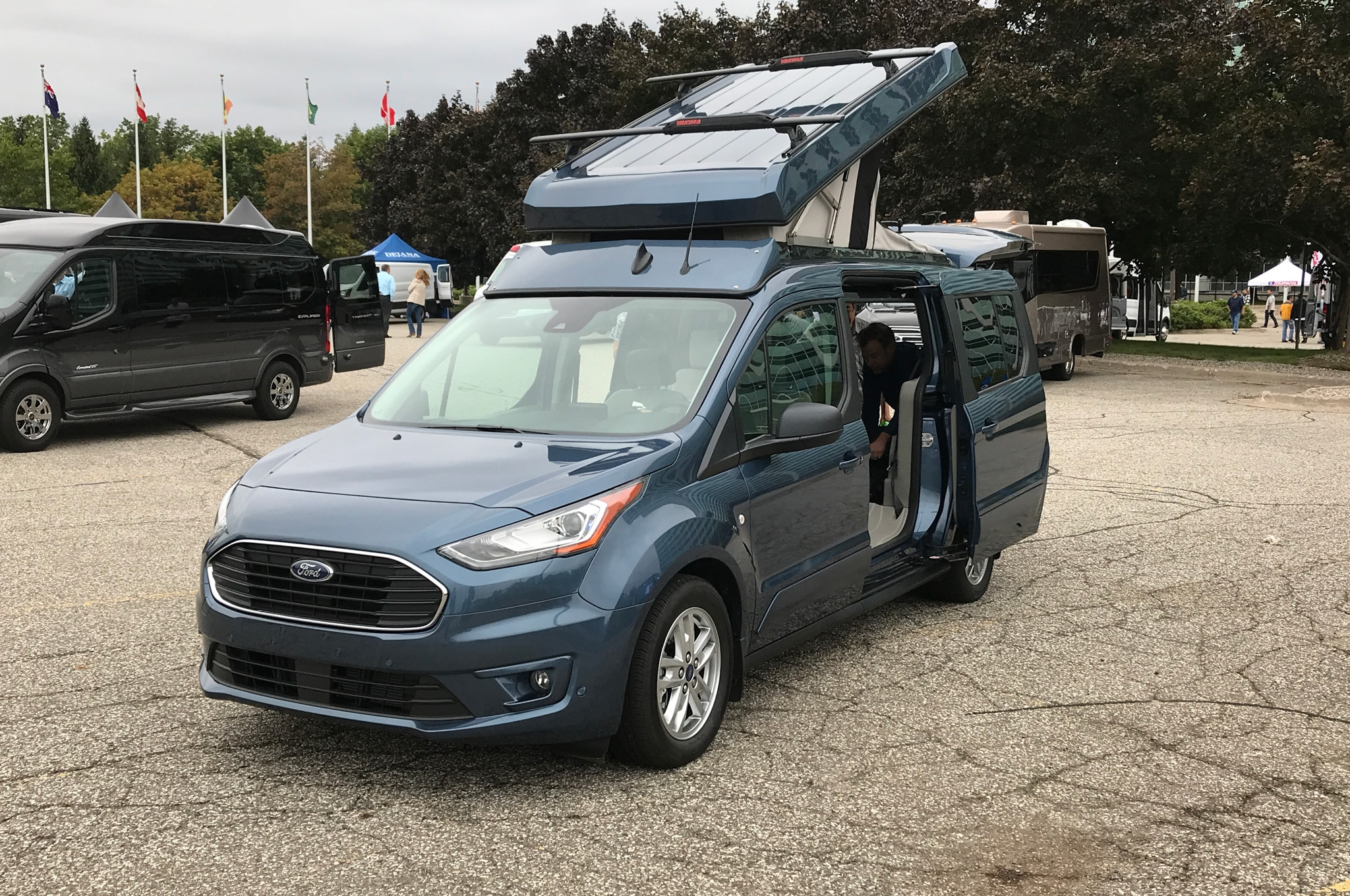 Ford Vandemonium 2018 Getting To Know The Transit Very Well