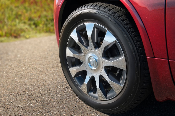 2017 Buick Enclave Sport Touring Chrome Wheel