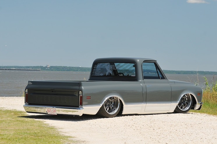 Battleship 1969 Chevy C10 Rear