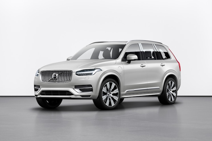 2020 Volvo Xc90 Inscription Exterior Studio Front Quarter