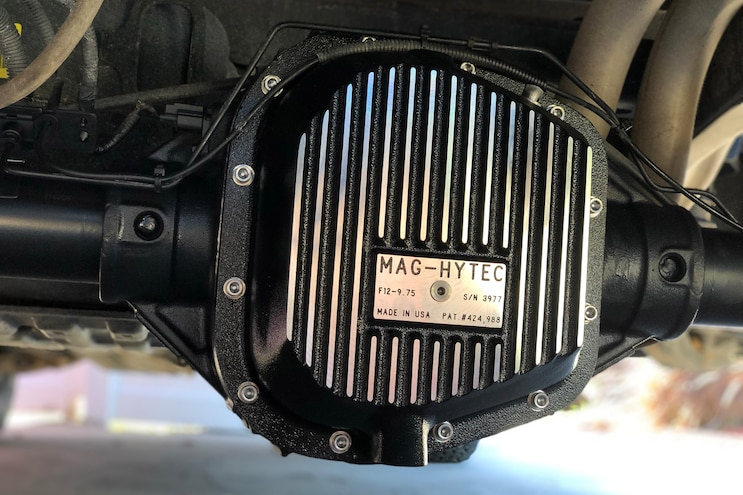 Ford F150 Mag Hytec Differential Cover Install 013